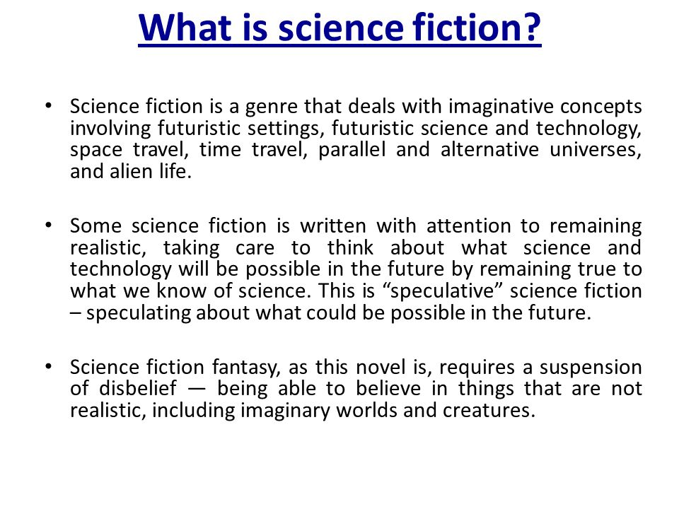 Time Travel Time travel is a concept that shows up frequently in science fiction.