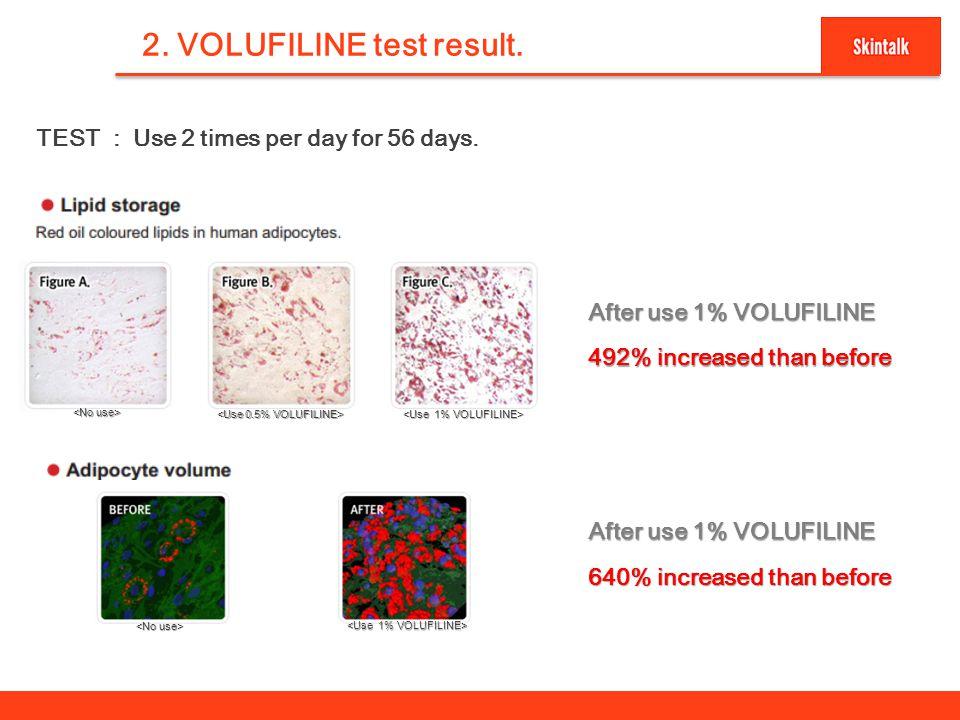 4 2.VOLUFILINE test result.