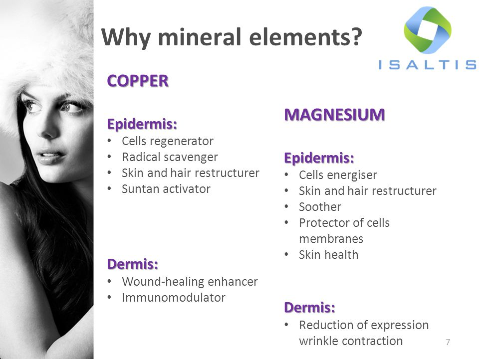 7 Why mineral elements.
