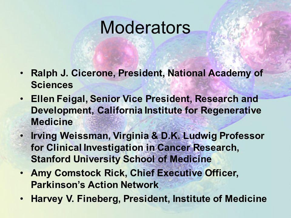Moderators Ralph J.