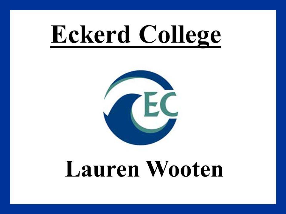Eckerd College Lauren Wooten