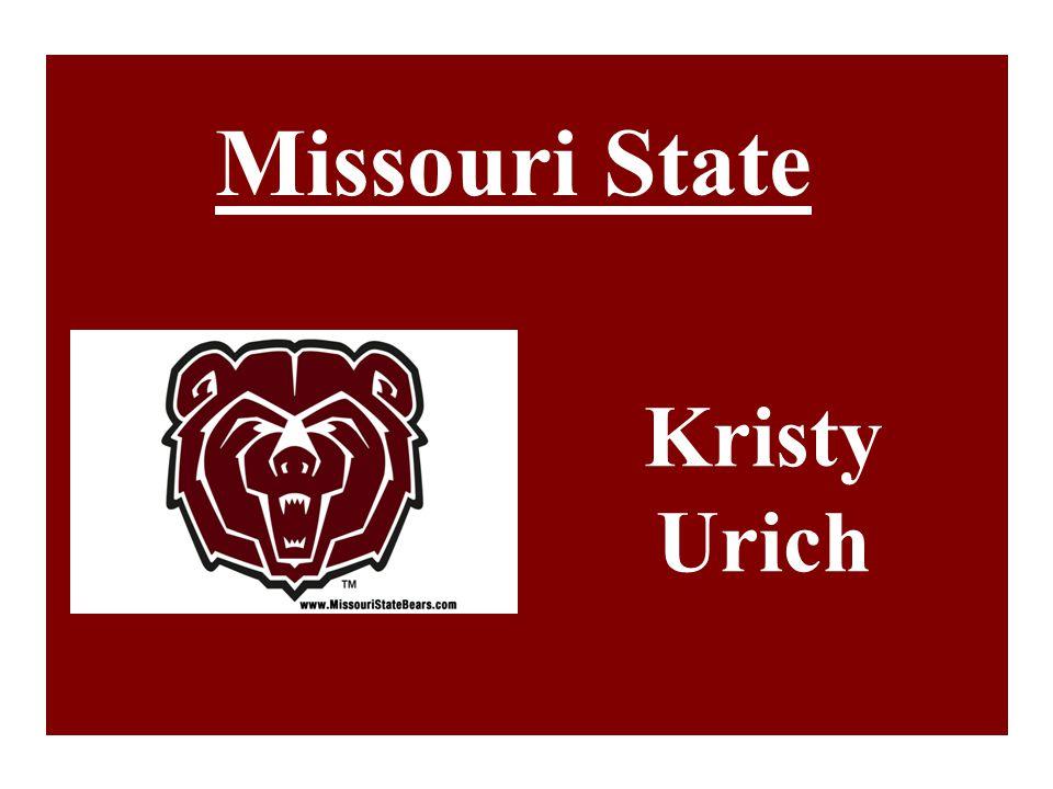 Missouri State Kristy Urich
