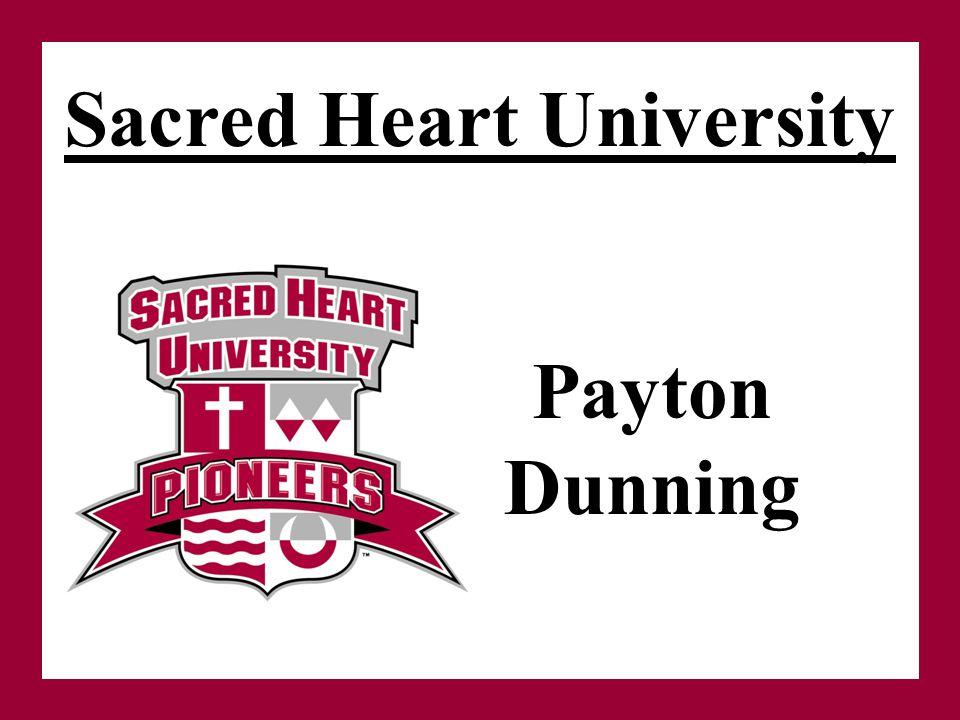Sacred Heart University Payton Dunning