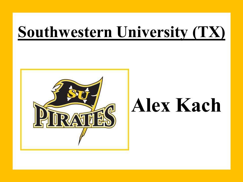 Southwestern University (TX) Alex Kach