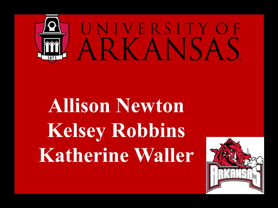 Allison Newton Kelsey Robbins Katherine Waller