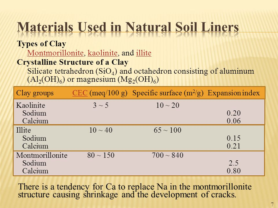 8  If a soil contains low plasticity index (≤ 10%), the soil will possess insufficient clay to develop low hydraulic conductivity.plasticity index  A soil with high plasticity index (≥ 30~40%) tends to form hard clods when dried and stick clods when wet.