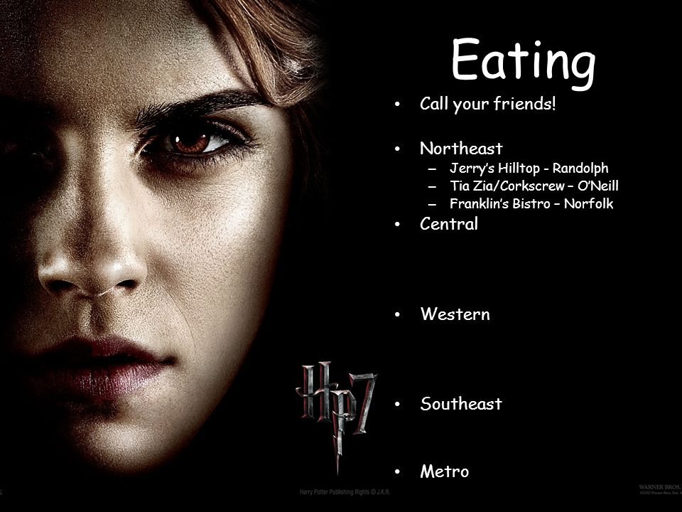 Eating Call your friends.