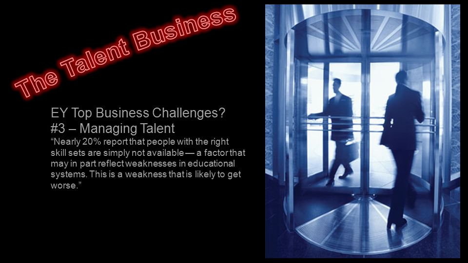 EY Top Business Challenges.