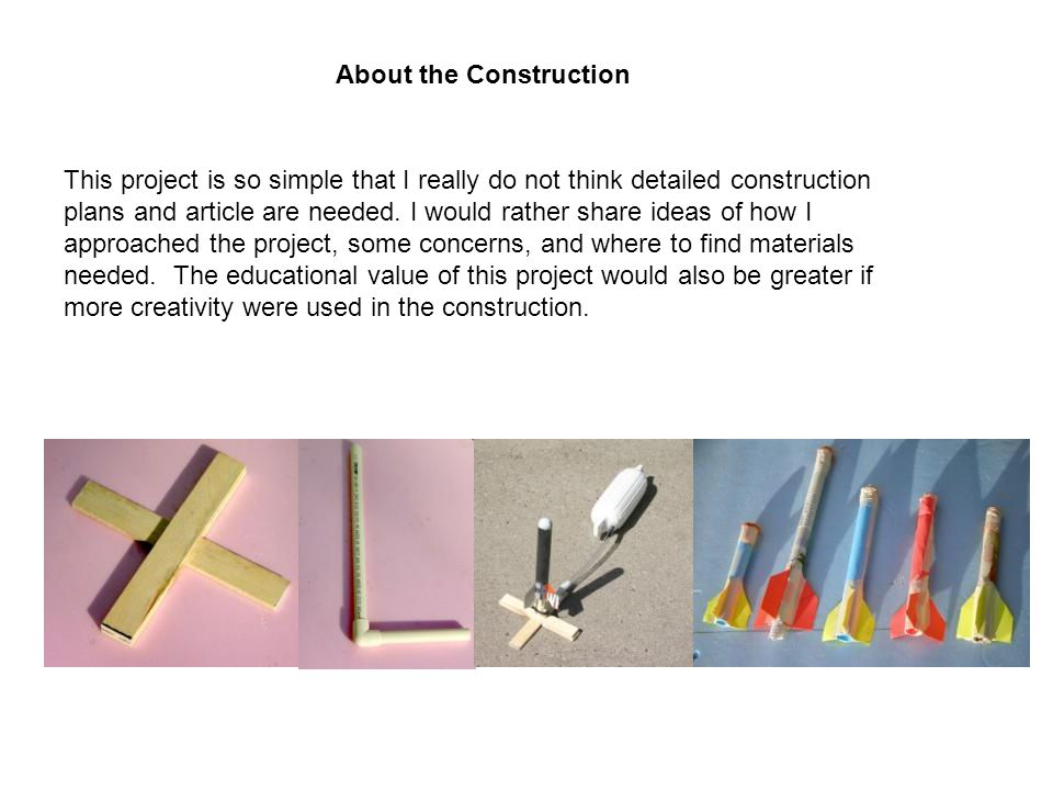 This project is so simple that I really do not think detailed construction plans and article are needed.