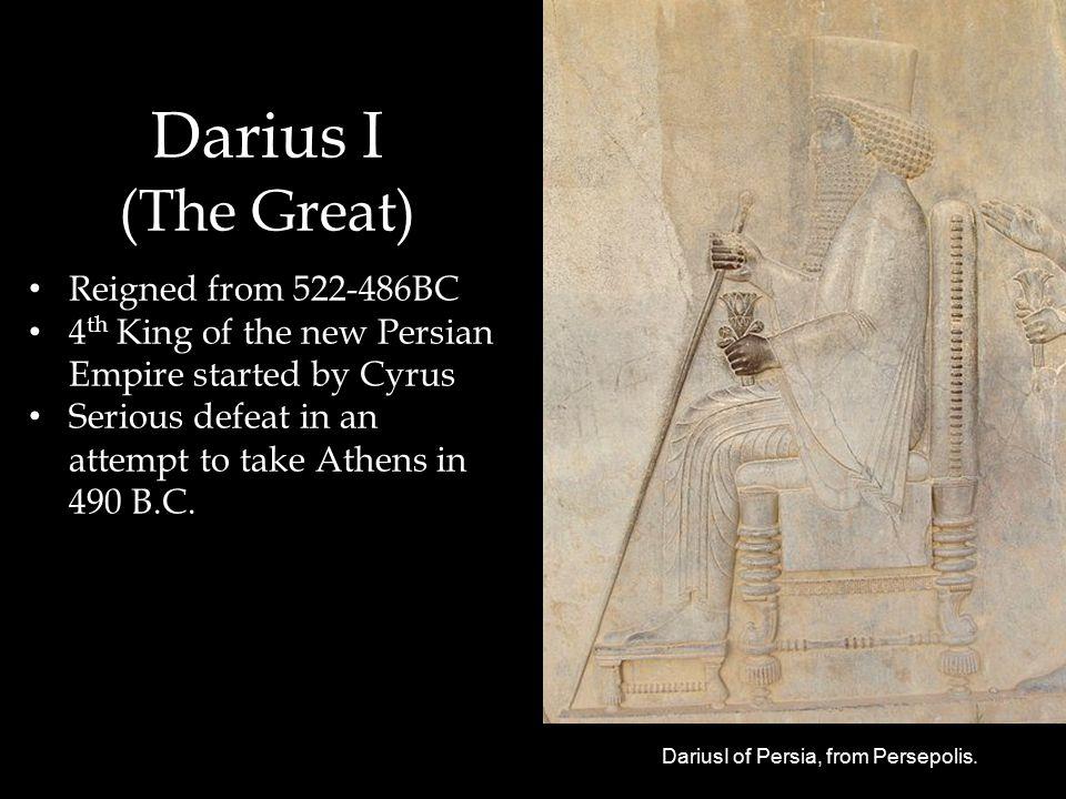 DariusI of Persia, from Persepolis.