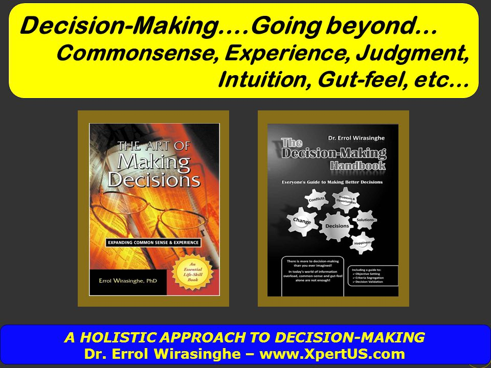 Problem Solving Implementing Decision Making The Three Phases 2 What do we mean..?
