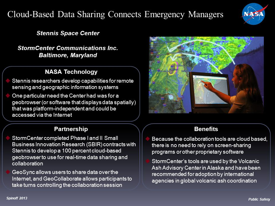 NASA Technology  Stennis researchers develop capabilities for remote sensing and geographic information systems  One particular need the Center had