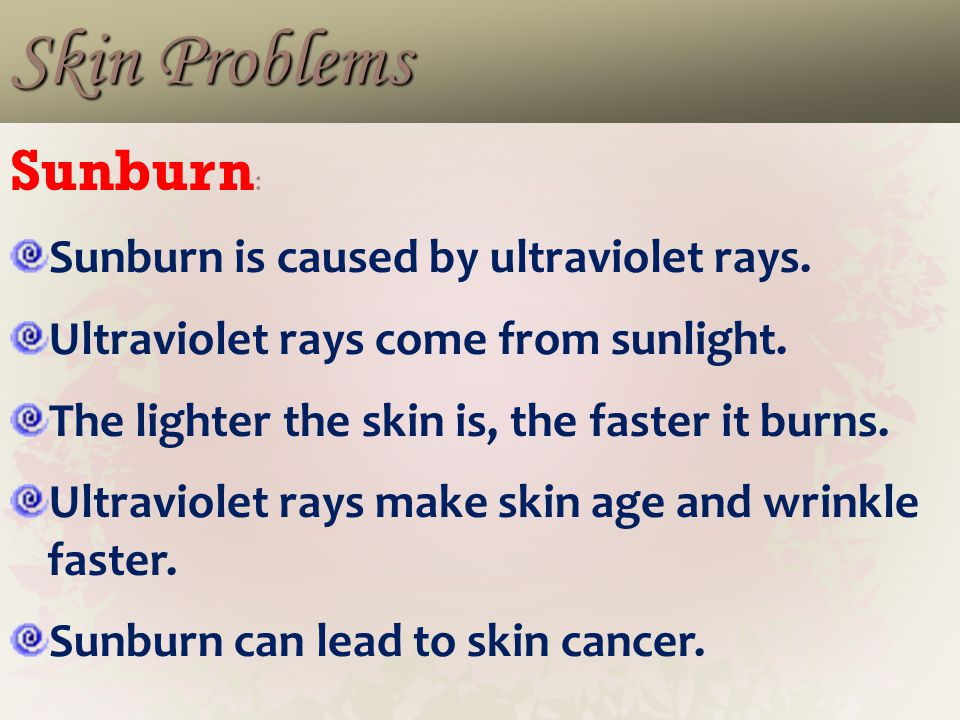 Common Skin Problems