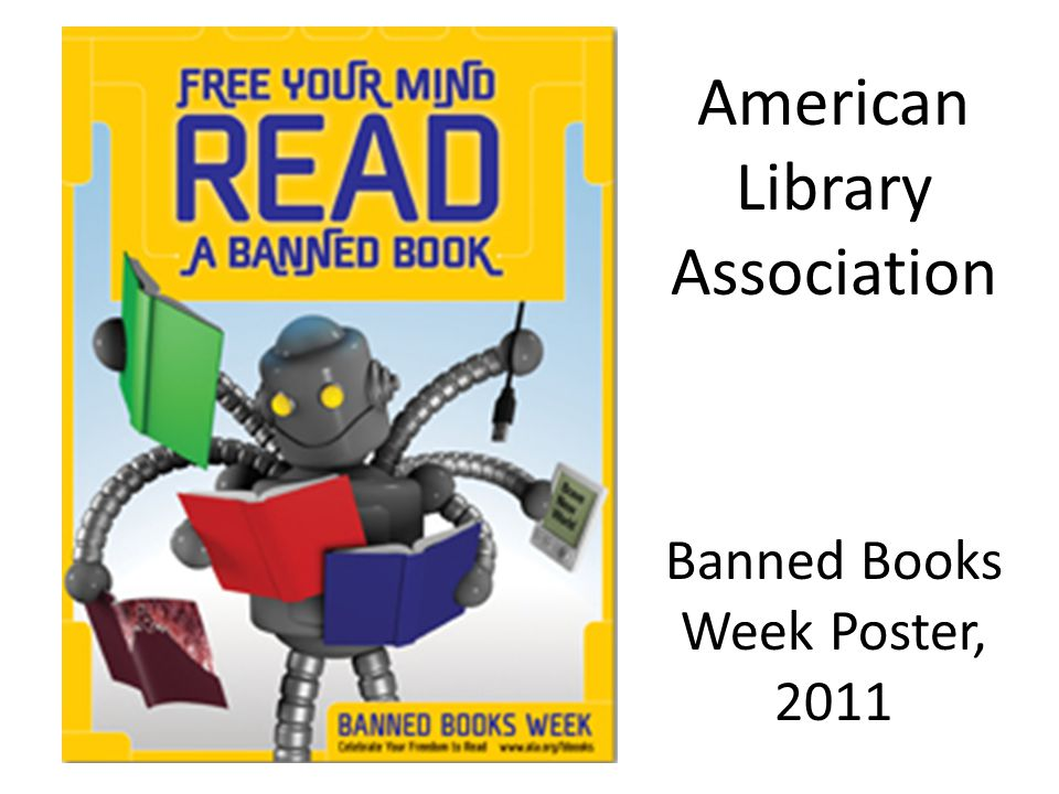 American Library Association Banned Books Week Poster, 2011