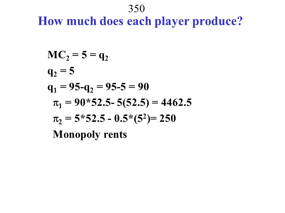 349 What if sold gas on a monopoly market.