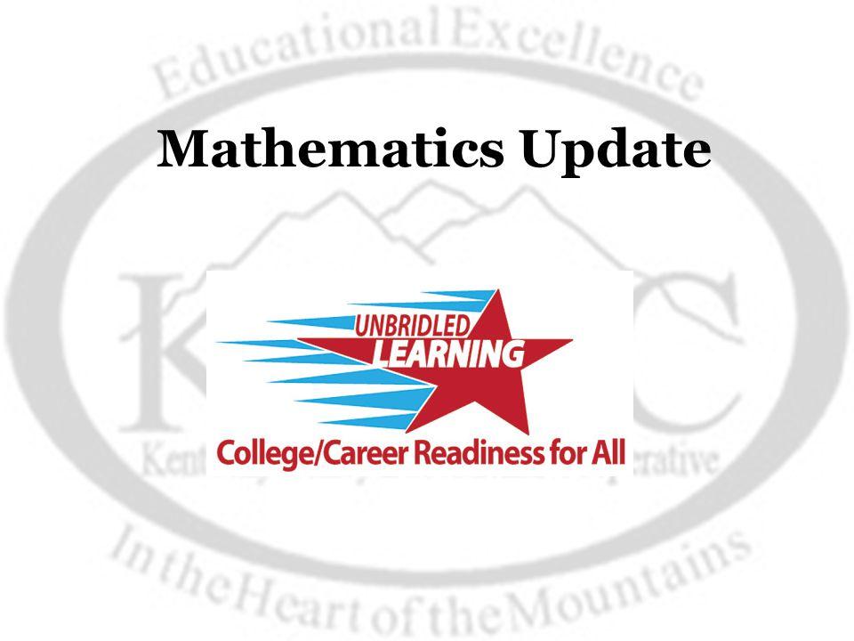 Mathematics Update