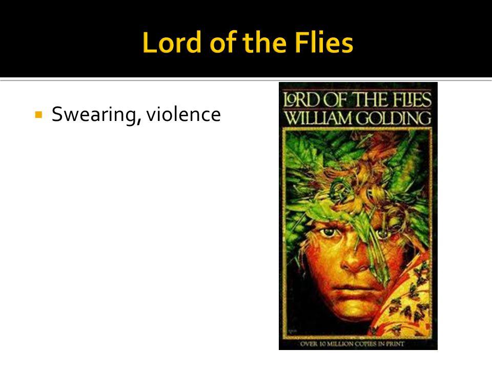  Swearing, violence