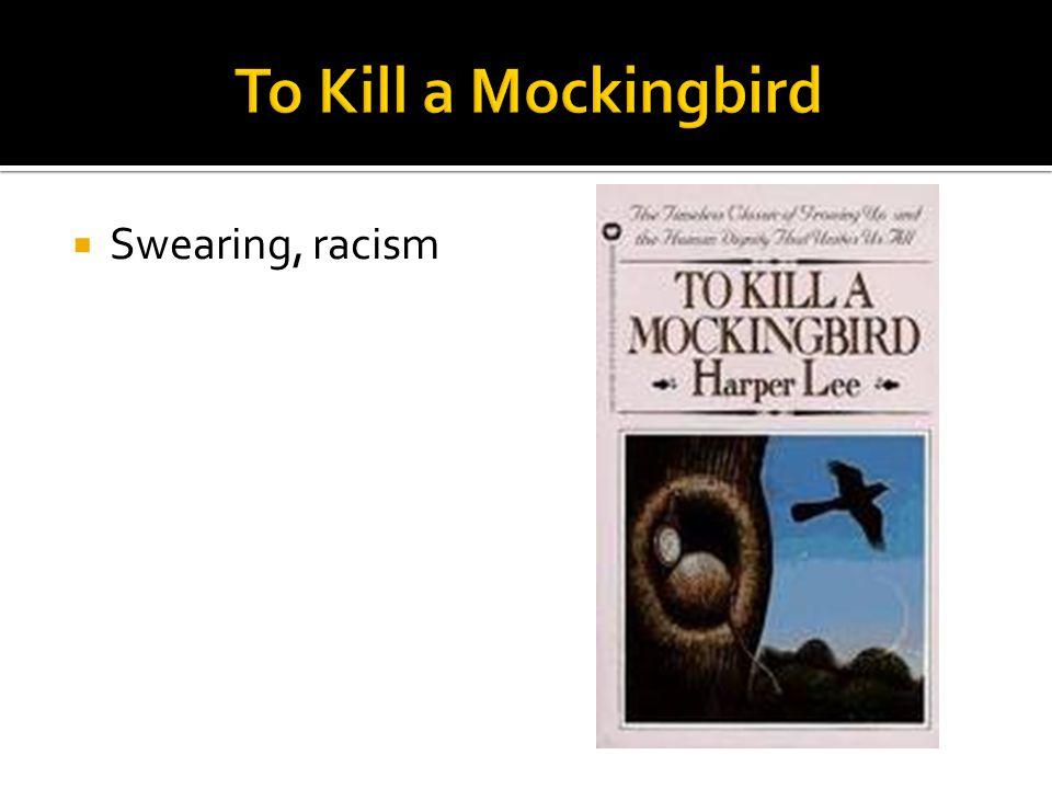  Swearing, racism