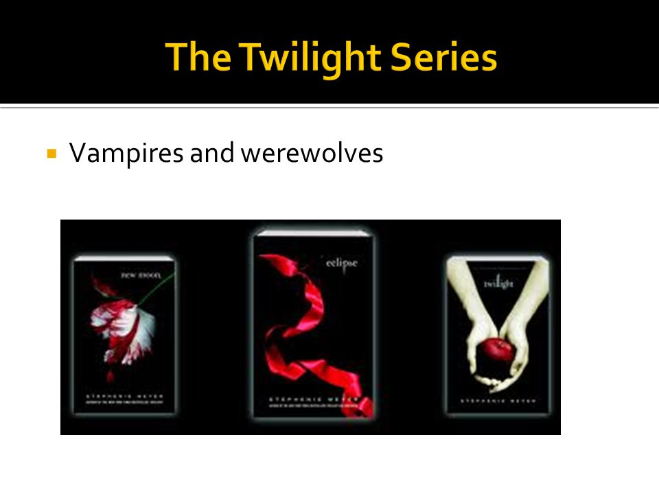  Vampires and werewolves