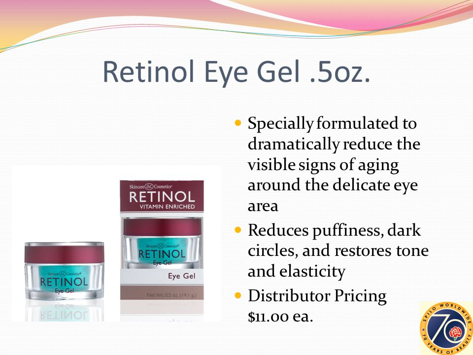 Retinol Eye Gel.5oz.