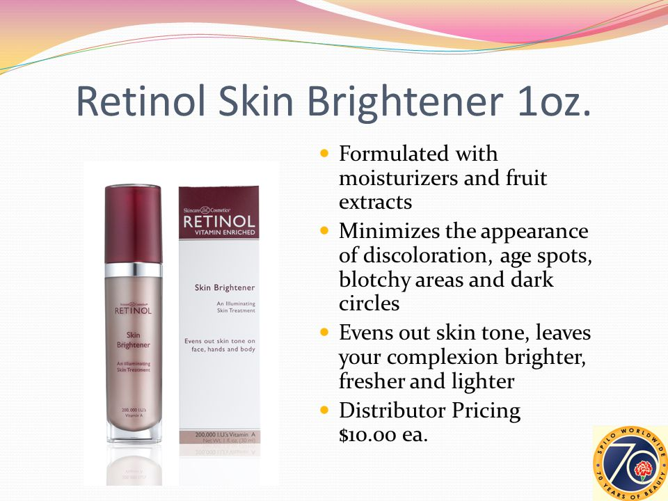 Retinol Skin Brightener 1oz.