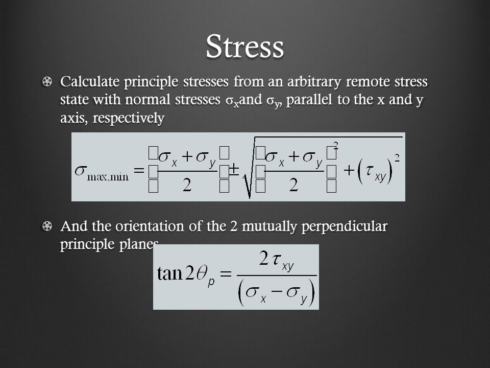 Strain This method of calculating strain can miss some faults.