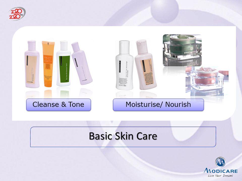 Basic Skin Care Cleanse & Tone Moisturise/ Nourish