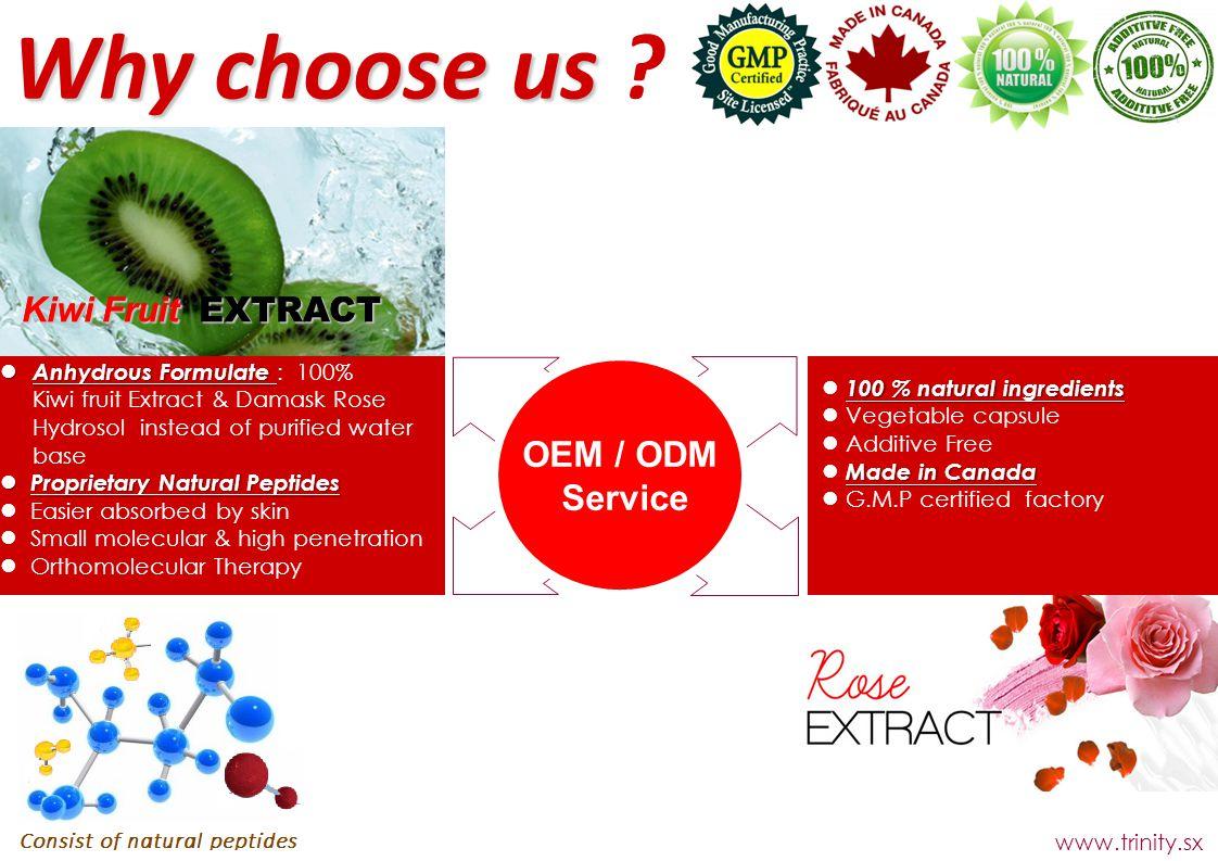 OEM / ODM Service Why choose us Why choose us .