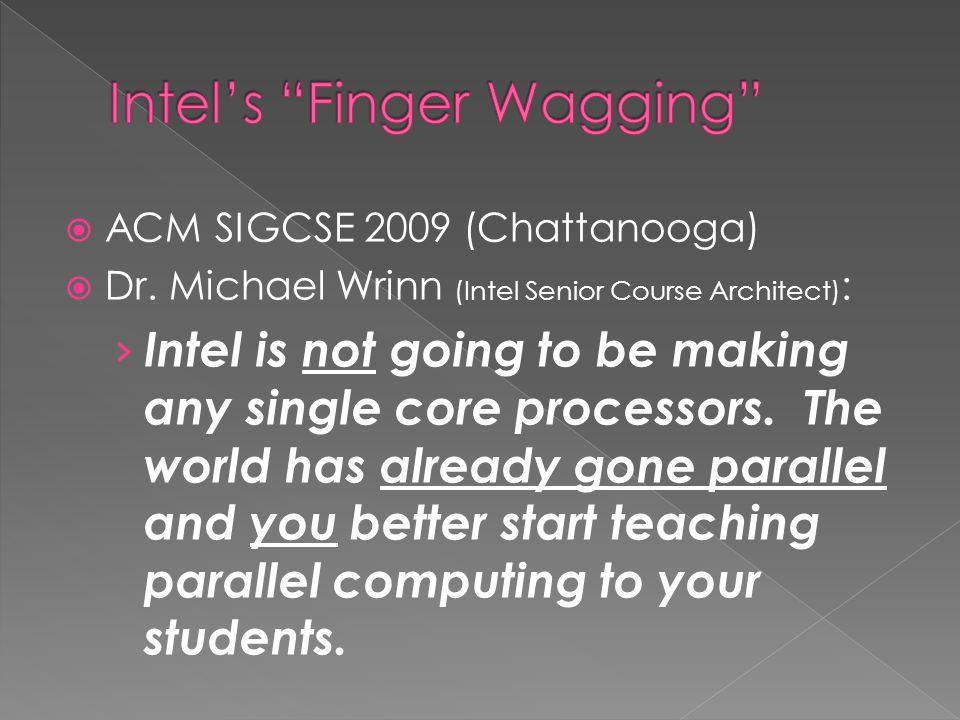  ACM SIGCSE 2009 (Chattanooga)  Dr.