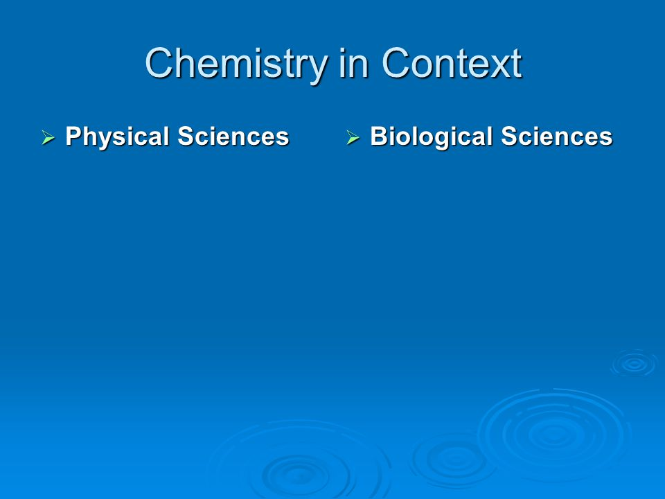 Branches of Chemistry  Inorganic Study of matter this is primarily of mineral (non-living origin) Study of matter this is primarily of mineral (non-living origin)  Organic Study of carbon containing compounds Study of carbon containing compounds Once believed that all carbon containing compounds were of living originOnce believed that all carbon containing compounds were of living origin