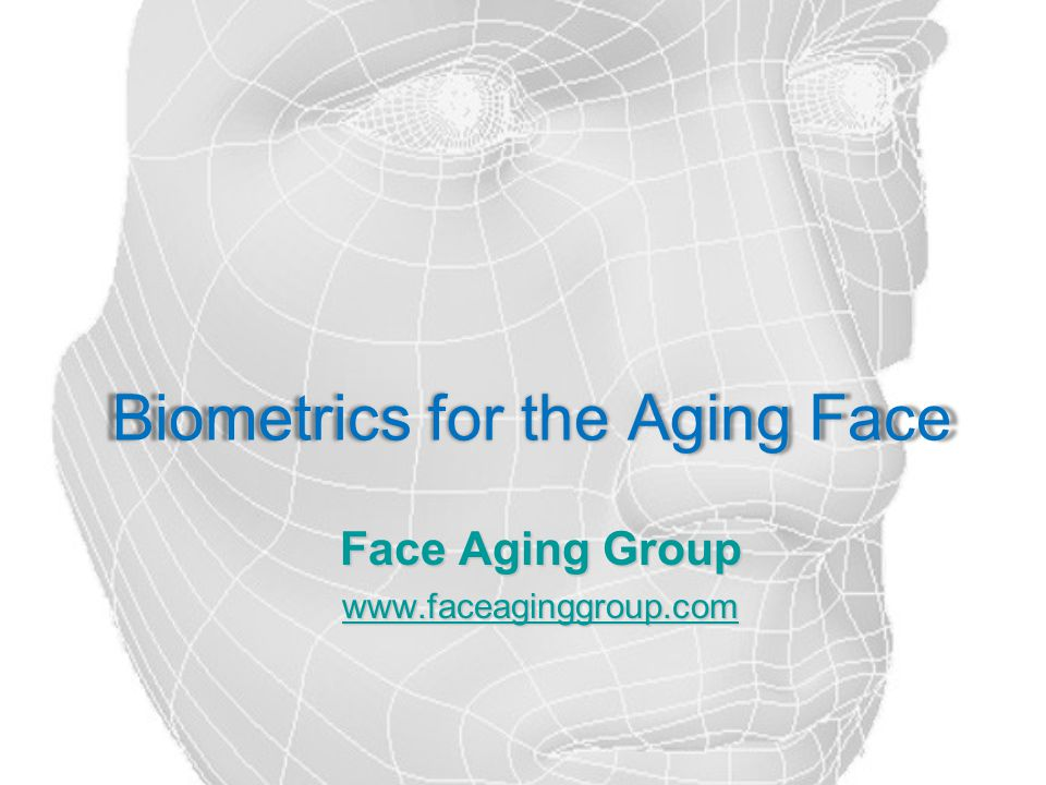  Student learning through research  The Face Aging Group is committed to creating the next generation of scholars.