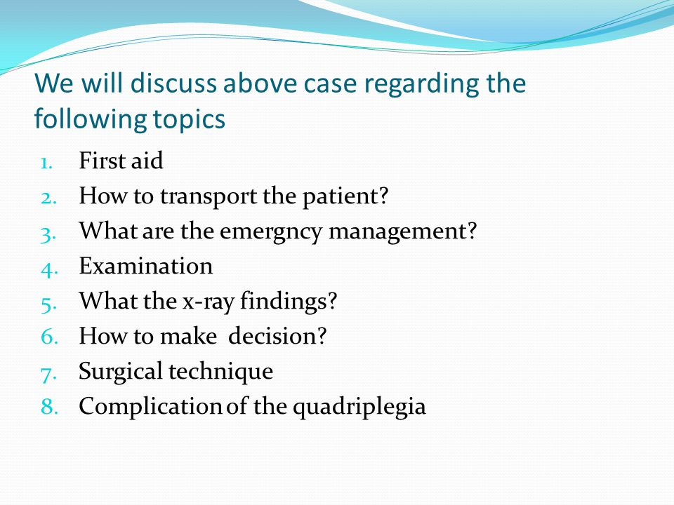 We will discuss above case regarding the following topics 1.