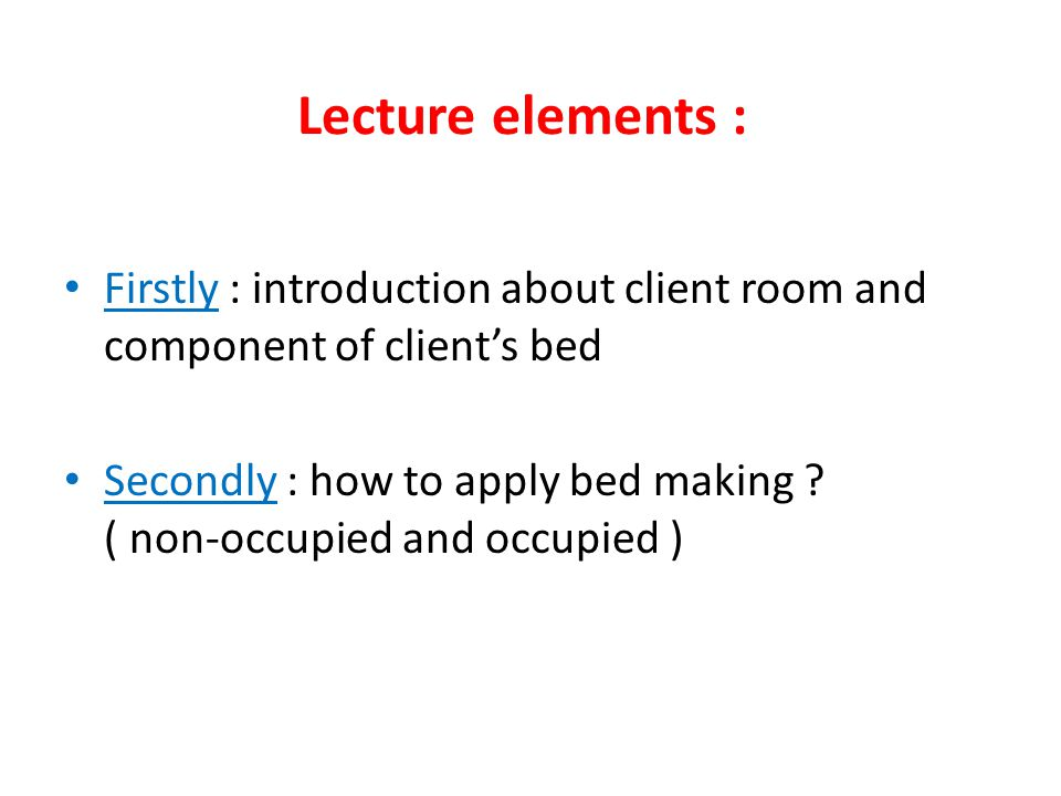 Introduction about client's room 2- floors 3- lighting 4- climate control 5- room furnishings