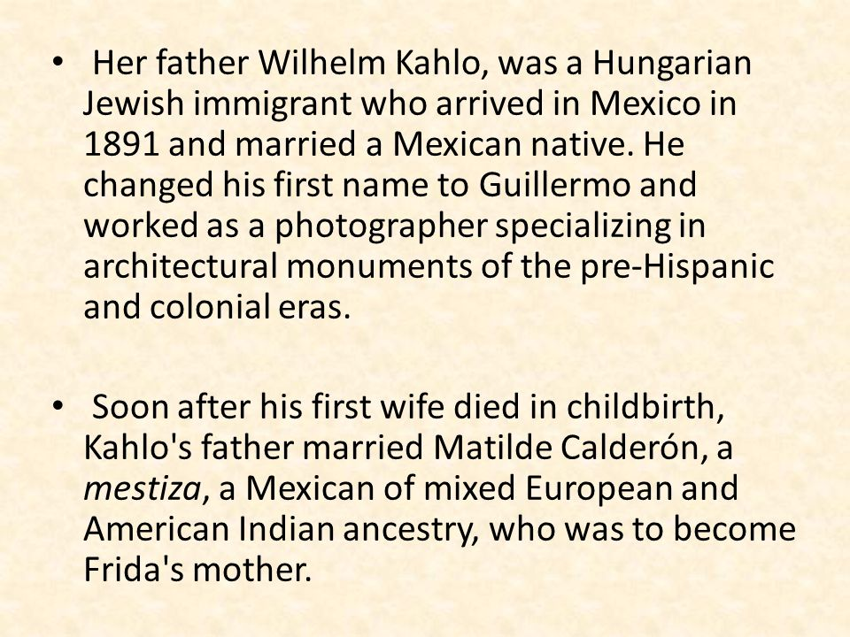 Frida s awareness of herself as a mestiza is central an understanding of her work.