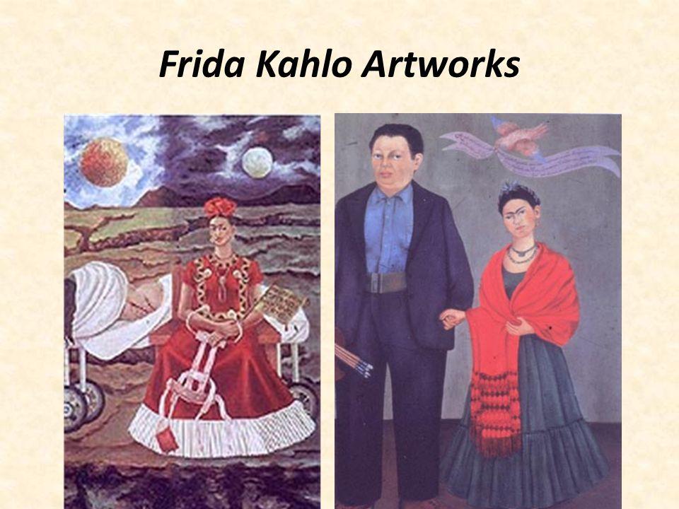 Frida Kahlo Artworks