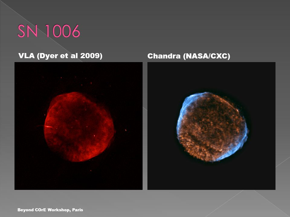 VLA (Dyer et al 2009) Chandra (NASA/CXC)
