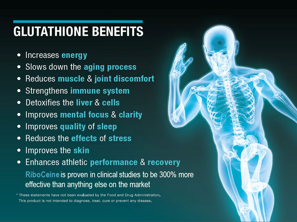 RiboCeine is proven in clinical studies to be 300% more effective than anything else on the market