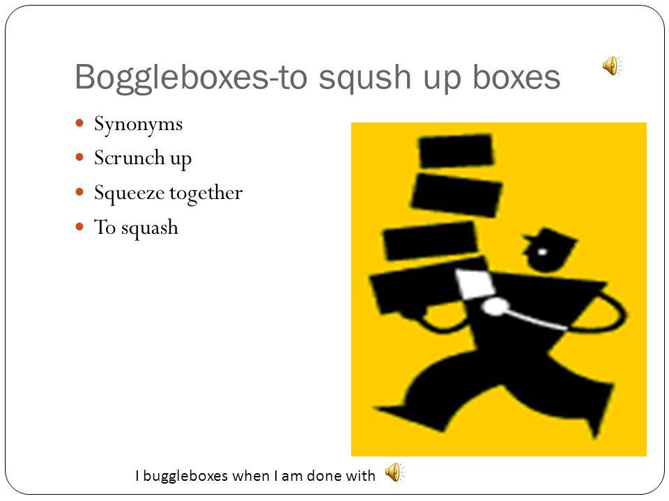By Ms. Garrett's 5 th Grade Class The BFG Interactive Vocabulary Nonsense Words