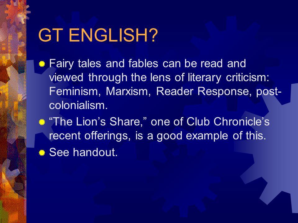 GT ENGLISH.