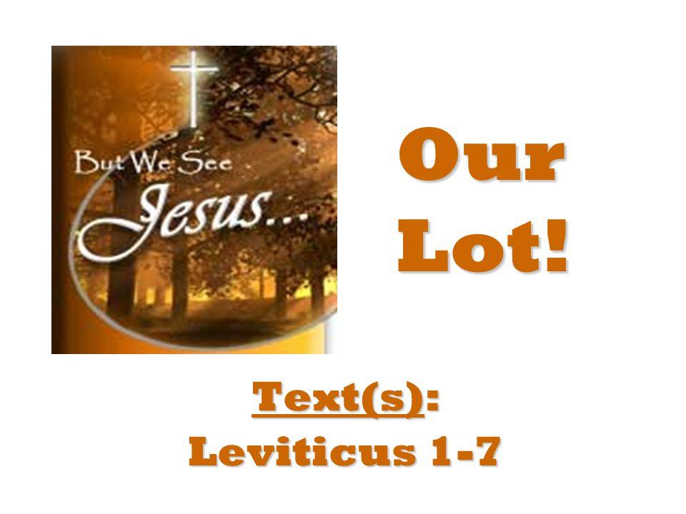 Text: Genesis 14 Hebrews Hebrews 7 Our Legate!