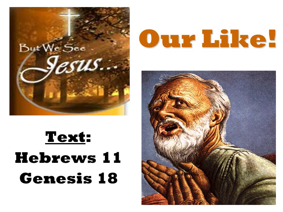 Our Lesson! Text: Exodus 25
