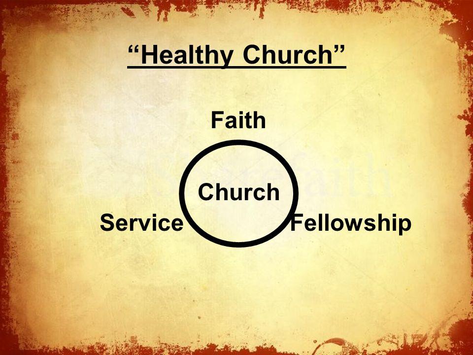 The Healthy Church Faith FellowshipService Church