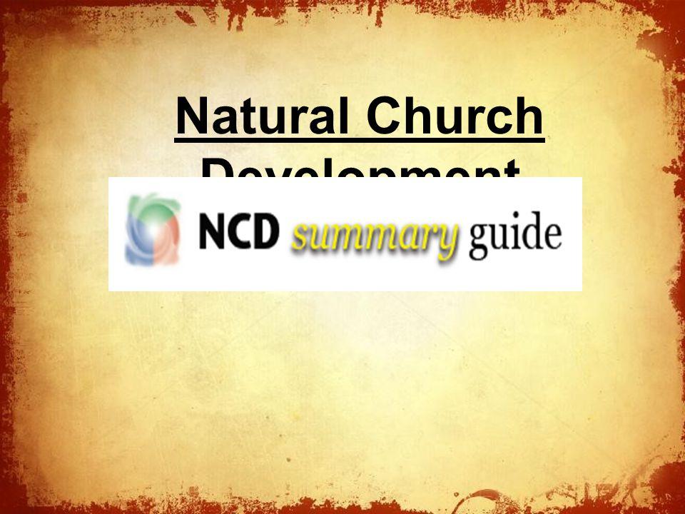 The Natural Church Development