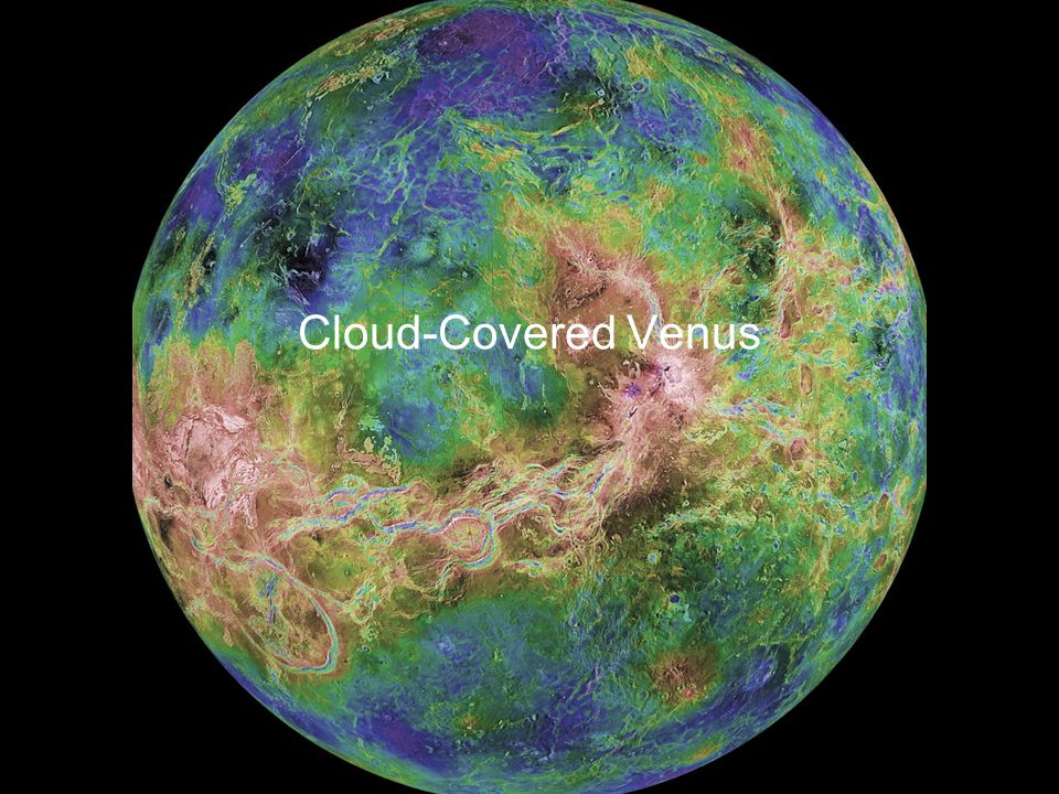 Cloud-Covered Venus