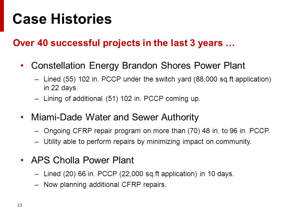 Constellation Energy Brandon Shores Power Plant –Lined (55) 102 in.
