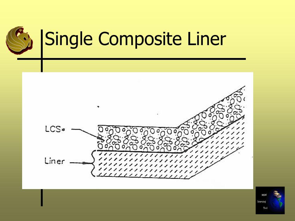 Single Composite Liner