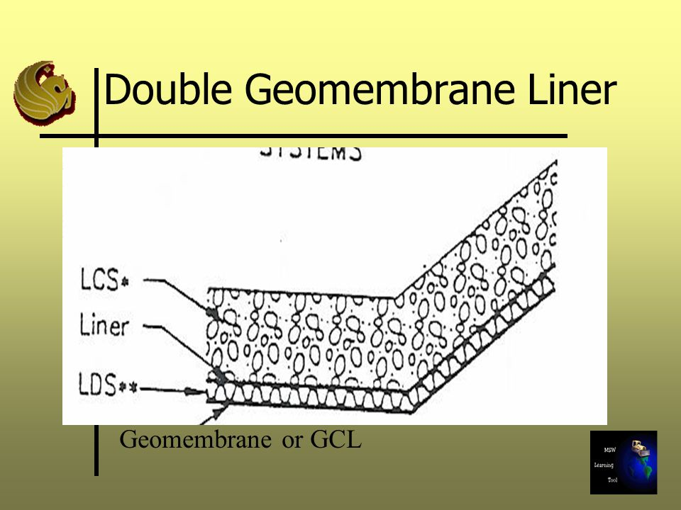 Double Geomembrane Liner Geomembrane or GCL