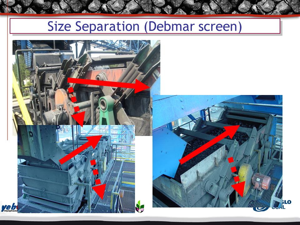 Size Separation (Debmar screen)