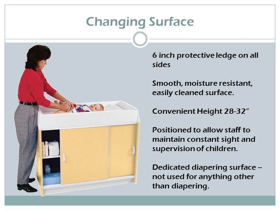 Changing Table Requirements Changing tables should meet the following requirements: 1.