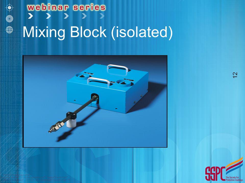 12 Mixing Block (isolated)